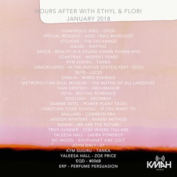 2018-01-31 - Ethyl & Flori - Hours After 50, KMAH Radio - tracklist.jpg